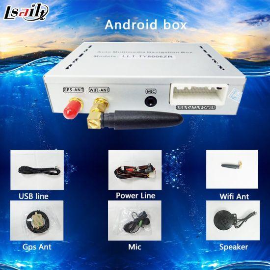 China Plug&Play Android Car GPS Navigation Box for Jvc DVD
