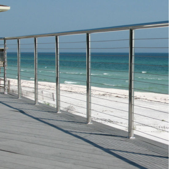 Stainless Steel Post Cable Railing