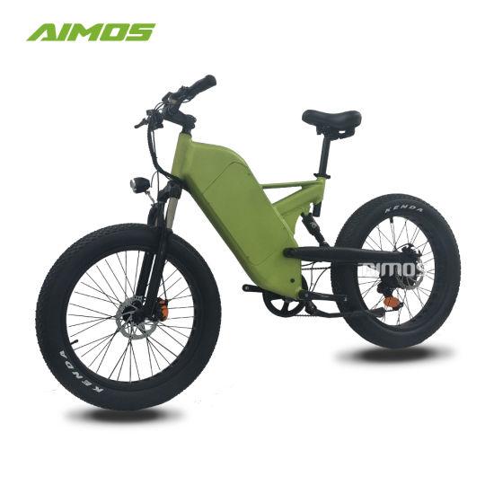 Full Suspension Mountain Fat Tire Electric Trek Bike