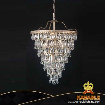 Low-Key Luxury Home Vintage Crystal Light
