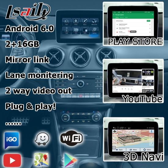 China Lsailt Android GPS Navigation System for Mercedes Benz Cla Ntg