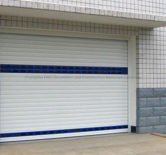 Aluminum Roller Shutter Door Automatic Rolling Shutter Door