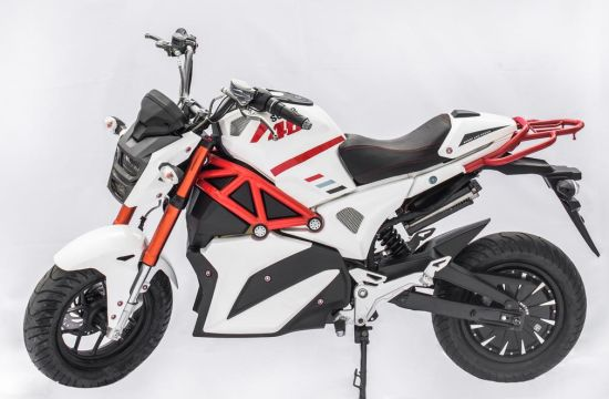 Powerful EEC Electric Racing Motorcycle 5000W 72V 50ah Lithium Battery for Adults