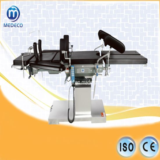 Electric Hydraulic Medical Bed Hospital Operating Table (ECOK002) pictures & photos