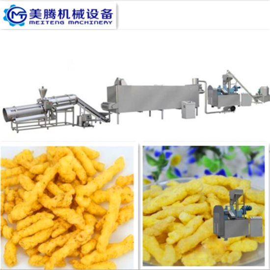 Commercial High Quality Extruded Snack Cheetos Making Machine