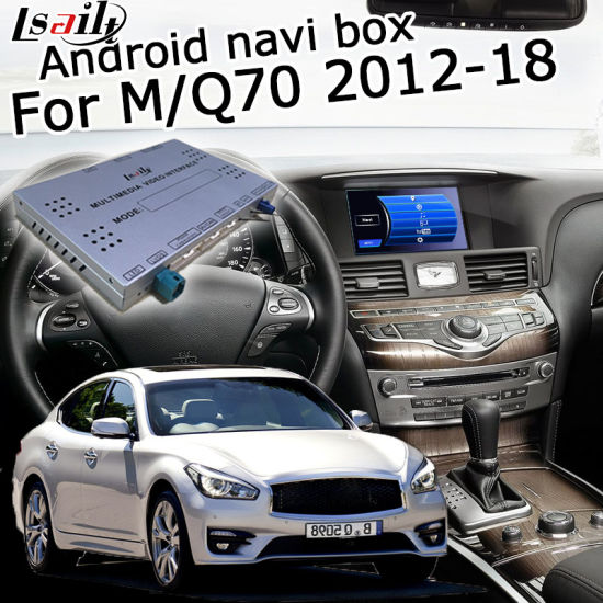 China Lsailt Android GPS Navigation System for Infiniti Q70/M etc