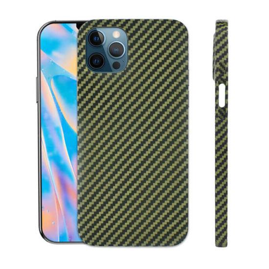Customized Luxury Design Carbon Fiber Phone Case Aramid Fiber Phone Case Mobile Case
