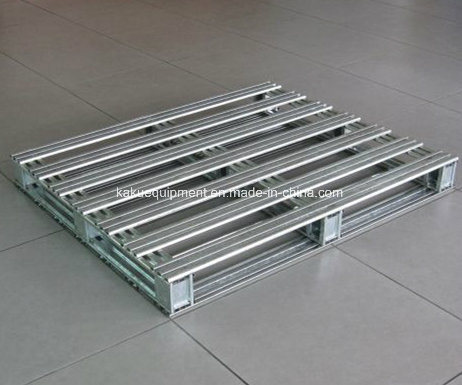 Heavy Duty Galvanized Iron Pallet for Industrial Warehouse Storage