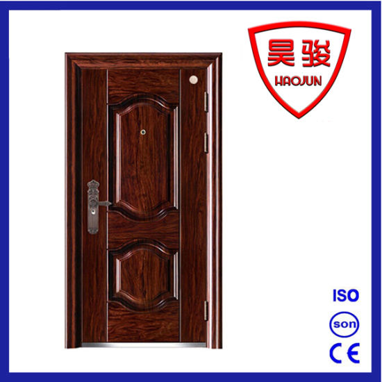 Steel Security Fireproof Door with CCC and Test Report, Infilling Fire Board pictures & photos