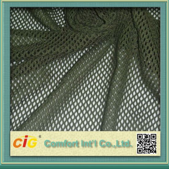 Warp Knitting Sportwear Tricot Mesh Fabric for Garment for Shoes for Car pictures & photos