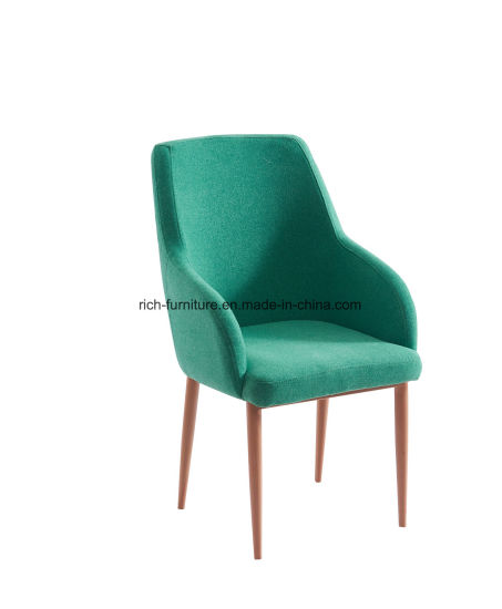 High Quality Designer Nordic Wooden Dining Arm Chairs pictures & photos