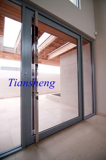 Fashionable Durable Aluminium Center Pivot Door/Side Hung Pivot Door