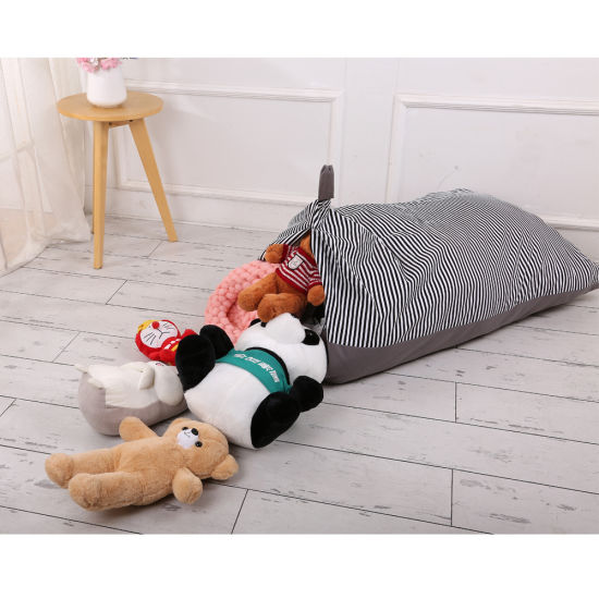 Fur Real Stuffed Animals, Stuffed Animal Storage Bean Bag Chair For Kids And Adults Soft Toy Bag With Comfortable Seating Premium Canvas Toy Storage Bag Cover Only Esg13966 China Bag And Storage Bag Price