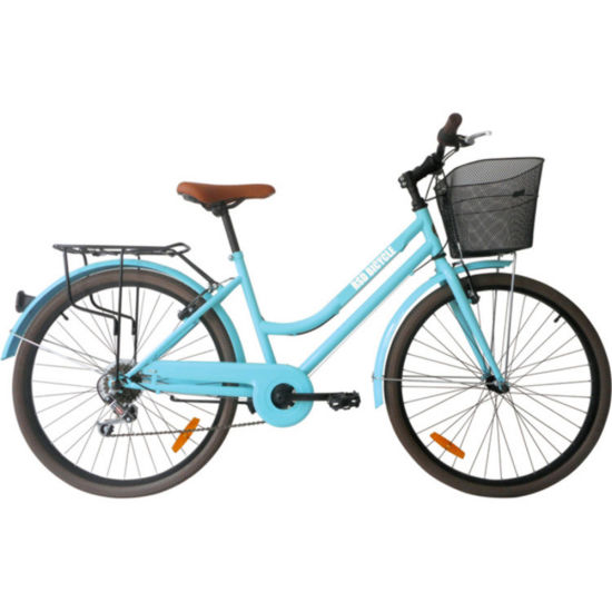 Cheap Fashion Classic 7 Speed 700c Bike Urban Holland Vintage Bike 24/26 Inch Bafang Ultra on City Bike with Basket New for Ladies/Women/Adult
