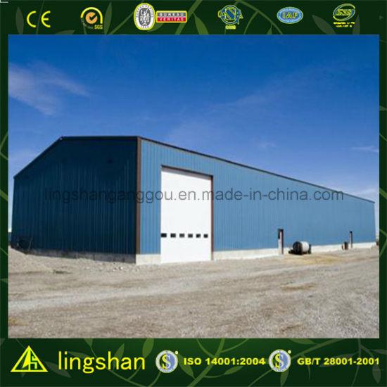 Modular Steel Workshop Building Kit (LS-SS-051)