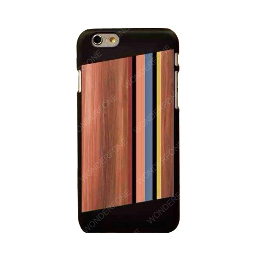 New Fashion Classic Wood Grain PC Case for iPhone 6g pictures & photos