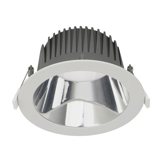 Commercial Lighting Fixture Dali Dimmable IP44 Ceiling Recessed Retrofit SMD LED Downlight
