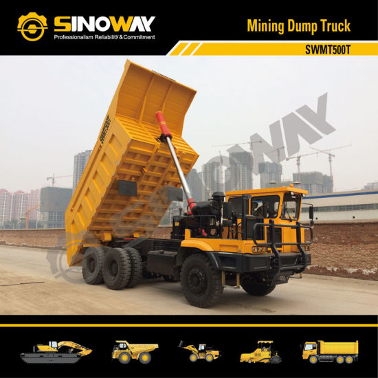 Mining Dump Truck with 50 Ton Load Capacity pictures & photos