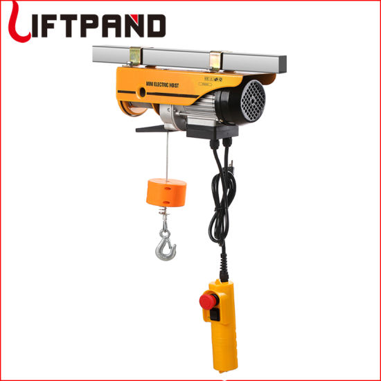 Single Phase 220V Electric Wire Rope Hoist Home Depot