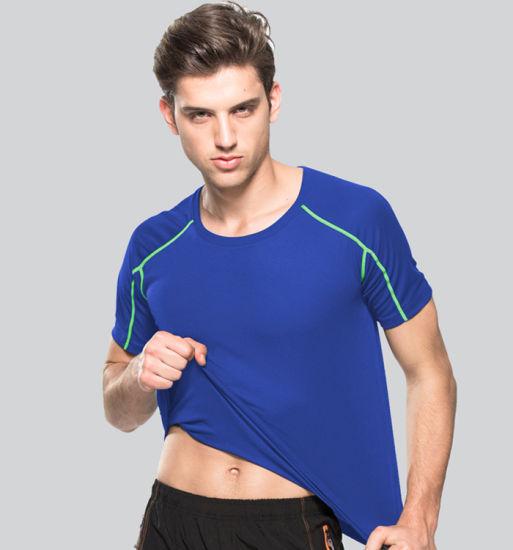 Wholesale Sportswear Custom Fitness Wear for Men/Gym Shirt