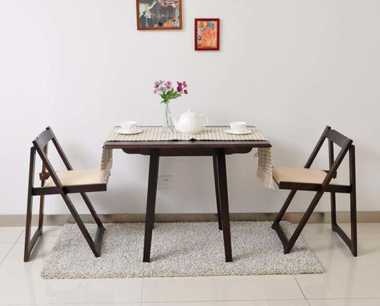Solid Wooden Folding Chairs Living Room Coffee M X2059
