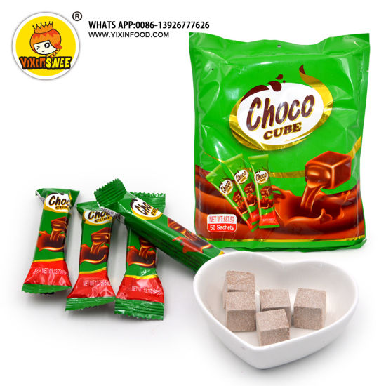 New Packing 5PCS in 1 Bag Choco Cube Candy