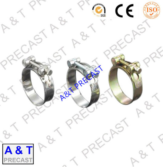 Stainless Steel American Spring Hose Clamp with High Quality pictures & photos