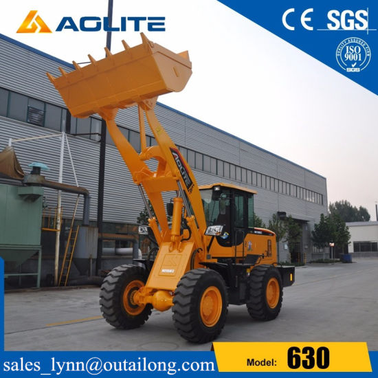 Chinese Factory Hydraulic Mini Front Loader 630 with Cummins Engine pictures & photos