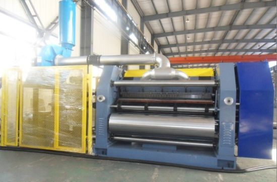 Vacuum Suction Fingerless Model Single Facer Corrugated Machine pictures & photos