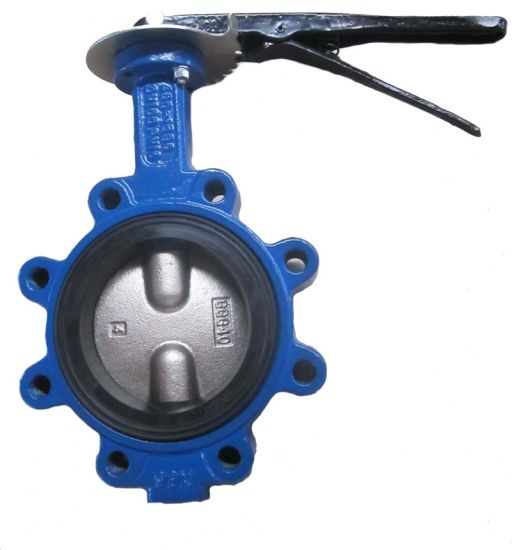 Cast Iron Lug Butterfly Valve Soft Seat Lever Operation pictures & photos