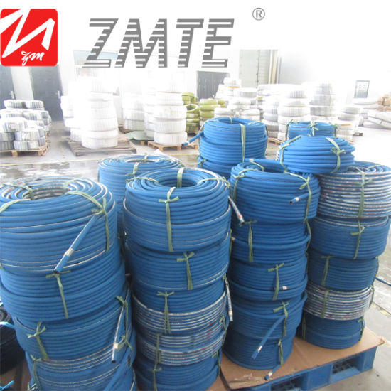 High Quality Hydraulic Rubber High Pressure Zmte Washer Hose pictures & photos