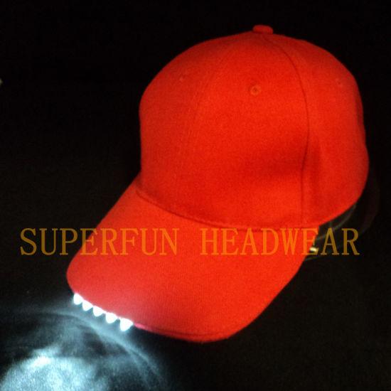 LED Light Baseball Caps