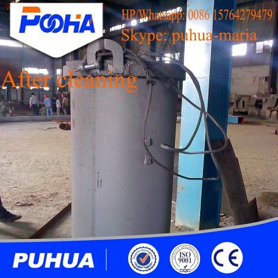 High Quality Q37 Series Double Hook Type Shot Blasting Machine pictures & photos