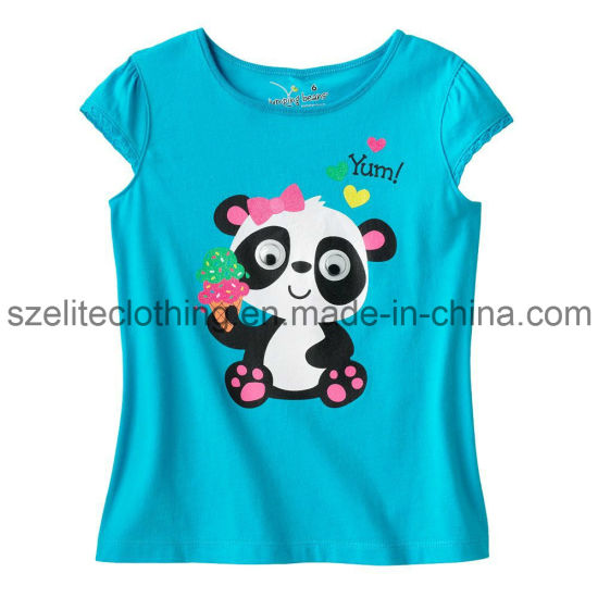 High Quality Blue T-Shirts for Baby Girl (ELTCCJ-56) pictures & photos
