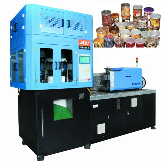 Plastic Pet Bottle Jars Snacks Food Cans Blowing Molding Machine Full Automatic Plastic Injection Stretch Blow Moulding Machine