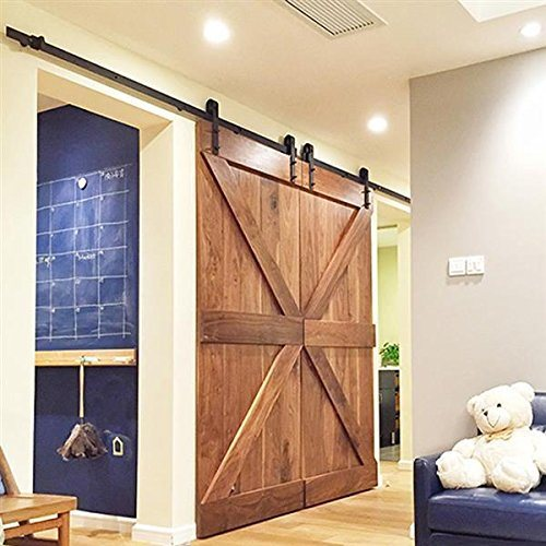 China Suppliers Carbon Steel Sliding Barn Door Hardware Zyc 02