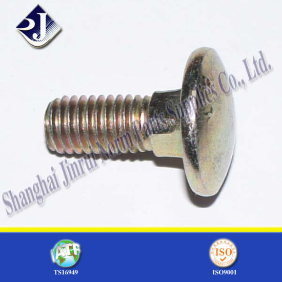 China Carbon Steel Elevator Carriage Bolt Din603 China Carriage