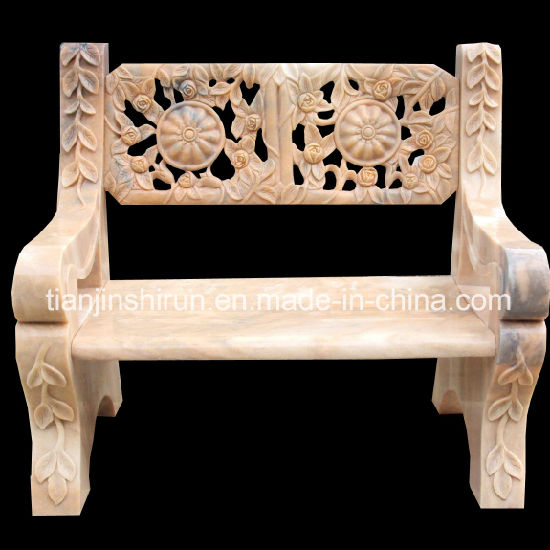 Stone Carving Arm Chair, Stone Furniture, Marble Chair