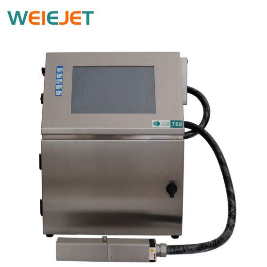 Best Cij Inkjet Printer for Product Day Printing/Water Bottle/PVC/Battery