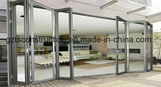 Economic Folding Door Price, Energy-Saving, Water-Proof, Sound-Proof Bifold Door