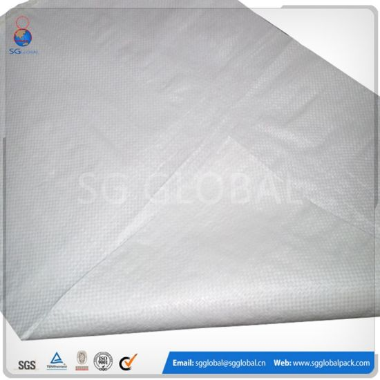 Woven PP White Bag for Rice, Feed, Grain, Flour pictures & photos