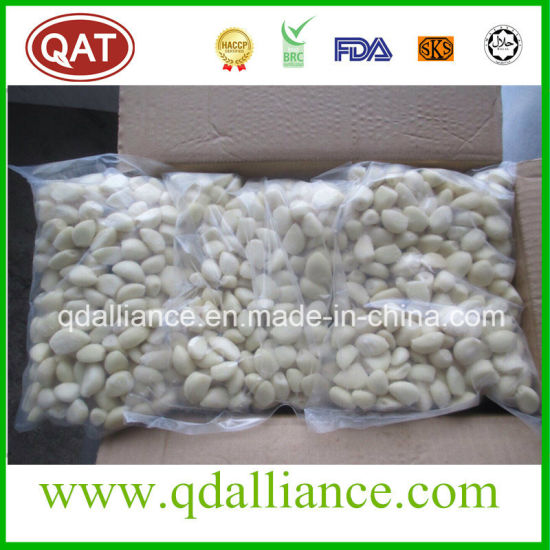 IQF Frozen White Garlic Cloves with Kosher Certificate pictures & photos