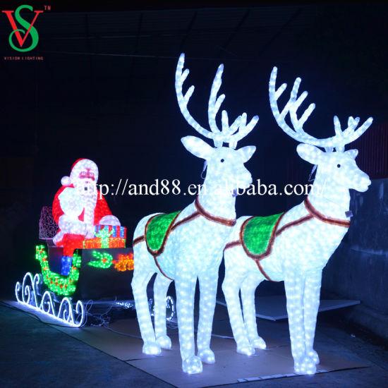 3D LED Christmas Sculpture Motif Light
