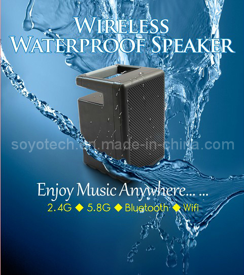 RF Hi-Fi Portable Wireless Waterproof Speaker pictures & photos