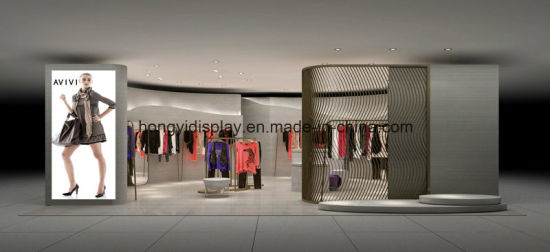 China Fashion Women Clothes Shop Design Clothes Women Shop Decoration China Store Display And Retail Display Price