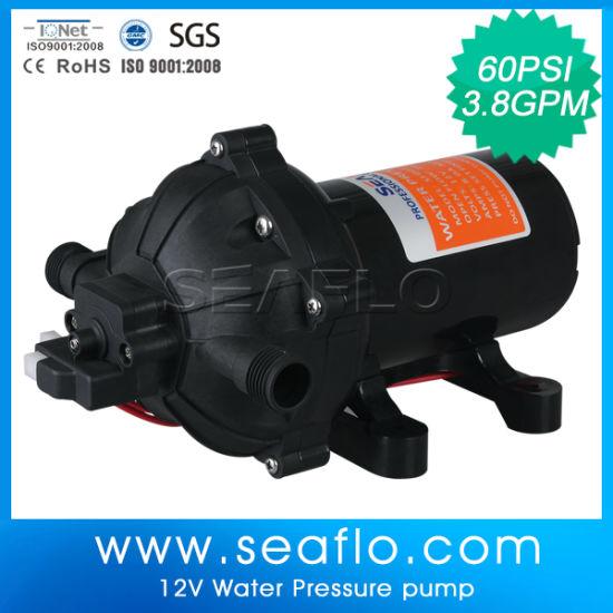 China Seaflo Auto Water Pump 12V 15lpm/4 0gpm 60psi - China Auto