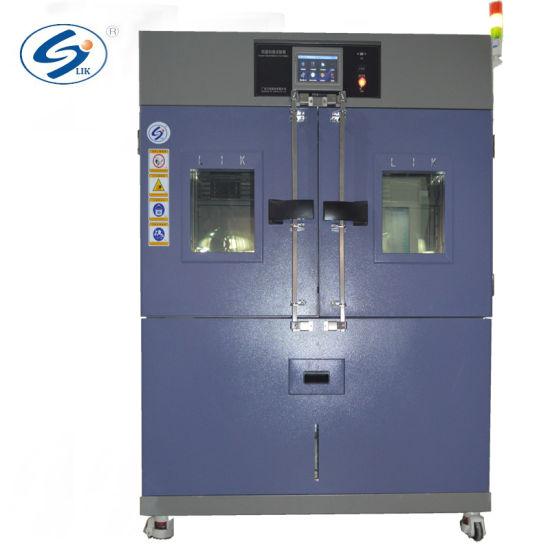 ISO Double Door Environmental Simulation Temperature Humidity Testing Machine