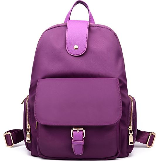 662e7d05e3 Water Resistant Nylon Backpack Purse School Bag for Women   Girls pictures    photos