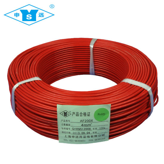 China 1mm 1.5mm 2.5mm 4mm Teflon FEP Electric Wire - China 4mm Wire ...