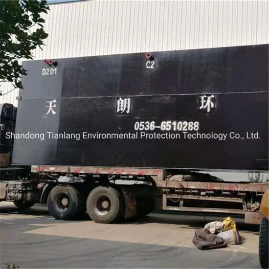 Underground Integrated Domestic Sewage Treatment Equipment Professional Manufacturers